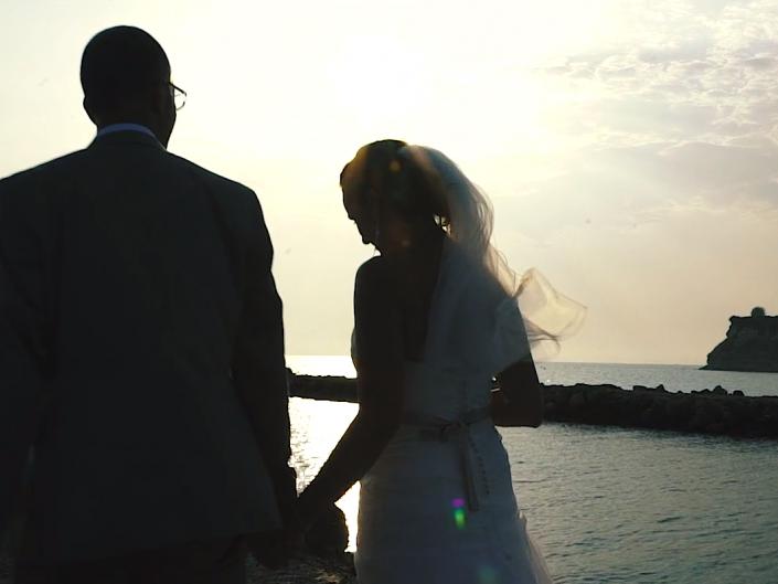 Daniel & Isabela's wedding at Sani Resort
